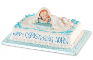 Goldilocks Cake Design For Christening : Red ribbon bakeshop Philippines, Red Ribbon christening ...