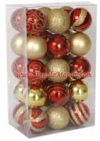 50-Pack Christmas Ornaments