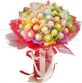 48 pcs. Ferrero Rocher in a Bouquet.